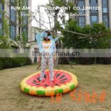 Water play equipment watermelon pool float inflatable donut