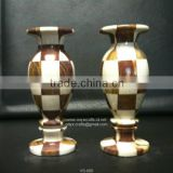 Marble Patch work Flower Vase in low price