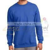 Zega Apparel 2014 Cheap High Quality sportswear streetwear mens Custom Plain fleece man sweatshirt