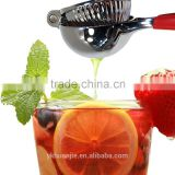 Premium Quality Stainless Steel Lemon Squeezer with Silicone Handles red green and black