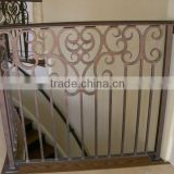 china factory cast iron railing parts design for iron pipe railings fence gates