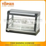 Display Showcase For Bakery Hot Food,Heated Bakery Showcase,Commercial Glass Bakery Showcase