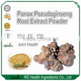 GMP Facotry Supplier Chinese Panax notoginseng Root Extract, Chinese Sanqi Root Extract