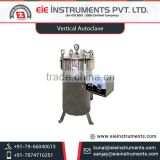Leading Company Supplies Vertical Autoclave with Calibrated Pressure Gauge for Sale at Nominal Price