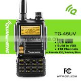 GT-5 Two-Way Radio Transceiver, Dual Band VHF/UHF 136-174/400-520MHz, Voice Companding & Dual PTT