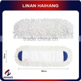 China manufacturer OEM multi-purpose good quality microfiber cotton flat cloth microfiber mop yarn