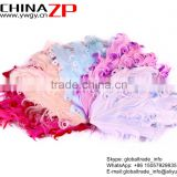 ZPDECOR Factory Wholesale Best Dyed New Baby Collection Curled Goose Feathers Pad Plumage Craft for Hair Accessories