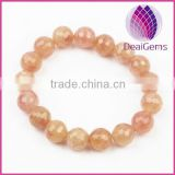 Wholesale 10mm strawberry round beads stretch bracelet