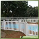 High quality cheap vinyl pool fence