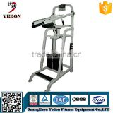 Commercial Standing Calf Raise Gym Fitness Equipment with factory price and 3MM thickness tube