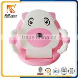 2016 Direct Factory children urinal plastic baby potty with handrail