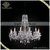 Modern style chrome crystal chandelier pendant light, candle light with crystal pendants