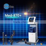 Hair Removal Skin Resurfacing Anti Cellulite Scar Painless 10600nm Removal Bison Fractional Co2 Laser Equipment