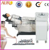 Au-6805 Top Hot selling ! lymphatic drainage with Air pressure weight loss pressotherapy infrared machine for body shaping