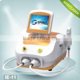 2 in 1 SHR IPL hair removal skin rejuvenation 10HZ angel white ipl Movable Screen