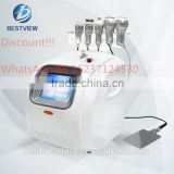 Ultrasonic Weight Loss Machine Promotions!!! 5 Heads Vacuum Cavitation Rf System Machine Slimming Beauty Equipment Cavitation RF Machine BM-188 For Sale Rf Slimming Machine