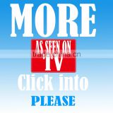 """As Seen On TV"" New Clear TV KEY HDTV Digital Indoor Antenna Free TV Ditch Cable"