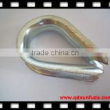 DIN 6899A Wire rope thimble