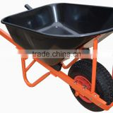 Heavy duty garden wheel barrow with 6.50-8 wheel