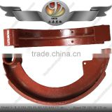 China supplier agriculture tractor parts auto brake shoe