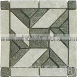 High Quality Green Stone Mosaic Tile For Bathroom/Flooring/Wall etc & Mosaic Tiles On Sale With Low Price