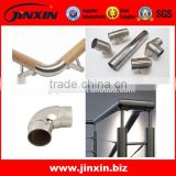 JINXIN high quality handrail pipe elbow fitting_stainless steel 304 welded pipe fittings elbow