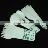 disposable wooden cutlery for knife fork spoon