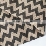 black /red chevron burlap for christmas and hoildays
