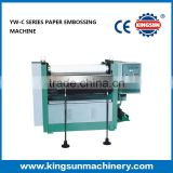 YW Series Sheet Feed Paper Embossing Machine