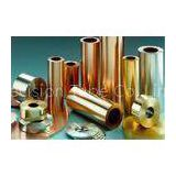BS2871 CZ110 Seamless Copper Tube For heater exchanger , Copper-Nickel Tube