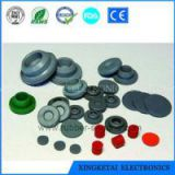 FDA Approved Clear Silicone Stopper Cap Rubber Cover Cap