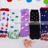 In stock Mommyhome cheap girls 4th of July legwarmers Patriots' Day leg warmers baby M6062501