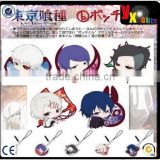 Hot Tokyo Ghoul Japan Anime Cute Kaneki Ken Acrylic Pendant Keychains 5 Patterns