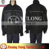 en20471 manufacture wholesale breathable cotton coverall with reflective tape for road safety