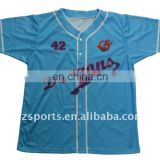 100% polyester custom dry fit baseball jersey 5xl