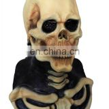 Eco-friendly Beautiful realistic Jungle Horror Skull Mask Deluxe Fancy Dress Costumes Mask for Carnival
