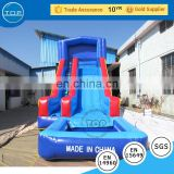 TOP INFLATABLES Hot selling banzai typhoon twist tobo gay cartoon inflatable slide water