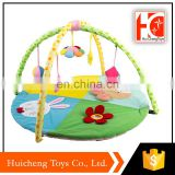 new 2018 baby toys wholesale baby play gym with BB whistle and bell