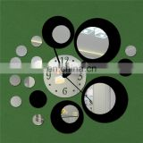 Large Size DIY Wall Clocks Home Office Decor 3D Wall Clock