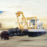 Small Suction Dredger With Hydraulic System