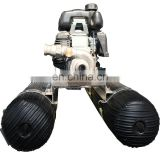 portable gold dredge with used sand dredge pump