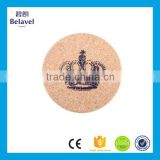 High quality eco-friendly wooden cork coaster custom drinking coaster                                                                                                         Supplier's Choice
