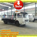 dongfeng 5tons 4*2 road wrecker towing truck