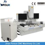 Made in China stone cnc router carving and cutting marble stone with strong cnc router body for sale