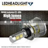 TINSIN LED BULBS !!! motorcycle bullet led headlight h4 h1 h3 h7 9005 9006