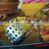 Pratical stainless steel rolling meat tenderizer 001