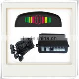 LED display parking sensor for to yota Rainbow LED Display Parking Sensor Parking sensor with 4 sensors