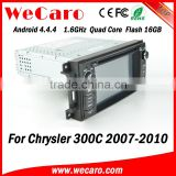 Wecaro WC-JC6235 Android 4.4.4 radio player touch screen for chrysler 300c car multimedia 2007 - 2010 mirror link