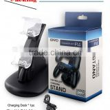 Wholesale plastic vertical dock base for ps4, replacement shell for ps4 controller, for ps4 tv mount clip