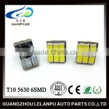 T10 5630 6SMD pcb Canbus LED 12V Bulb Car Interior Led Light Furniture Led Head Light car led light